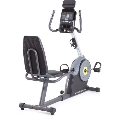 Gold's Gym Cycle Trainer 400 Ri Recumbent Exercise Bike - view number 3