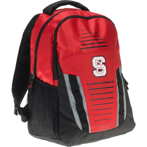 Forever Collectibles North Carolina State University Stripe Franchise Backpack - view number 2