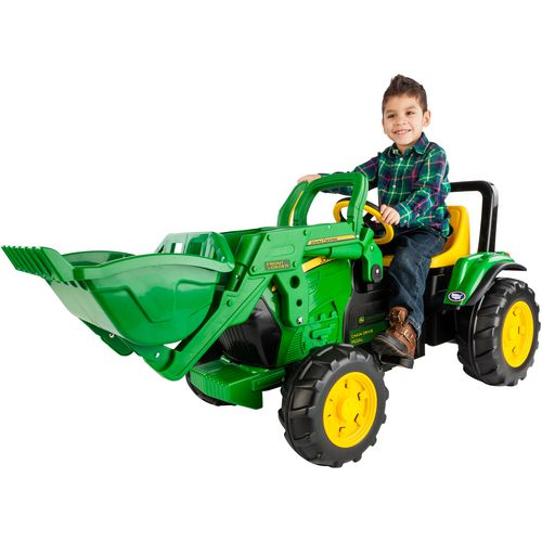Peg Perego John Deere Front Loader Ride-On Pedal Vehicle