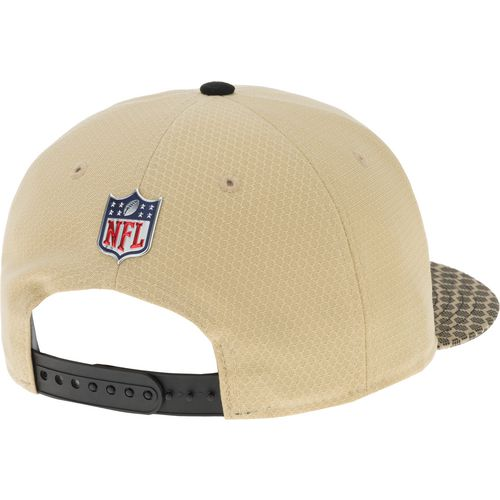 New Era Men's New Orleans Saints Onfield Sideline 2-Tone 9FIFTY Cap - view number 3