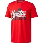 adidas Men's Badge of Sport Script Houston T-shirt - view number 1