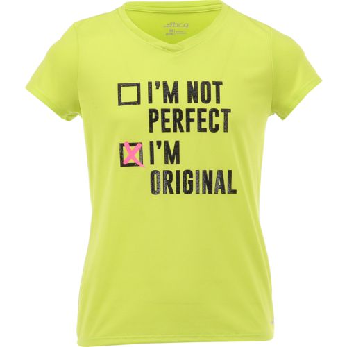 BCG Girls' Not Perfect Graphic T-shirt