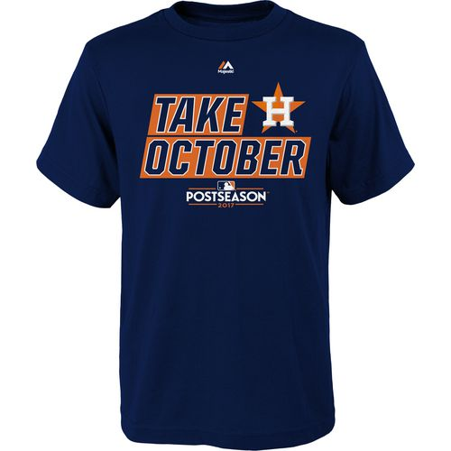 Majestic Kids' Astros Take October Division T-Shirt