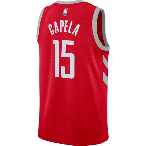 Nike Men's Houston Rockets Clint Capela Icon Edition Swingman Jersey