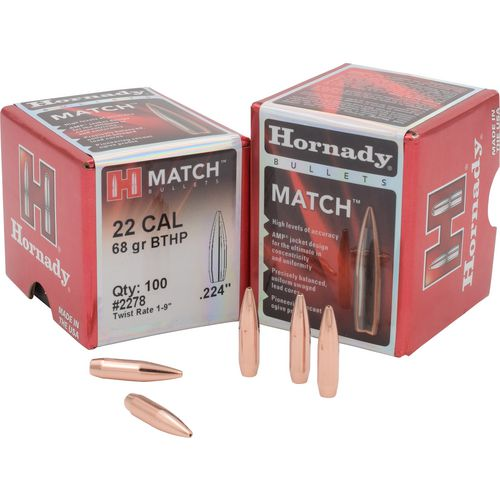 Display product reviews for Hornady BTHP .22 68-Grain Bullets