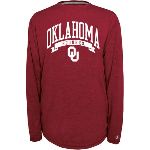 Champion Men's University of Oklahoma In Pursuit Long Sleeve T-shirt