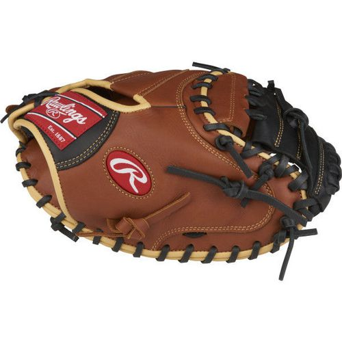 Rawlings Adults' Sandlot 33 in Catchers Baseball Mitt