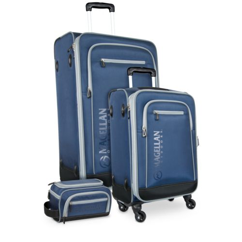 Magellan Outdoors 3-Piece Luggage Set