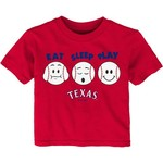 MLB Infants' Texas Rangers Eat Sleep Play T-shirt - view number 1