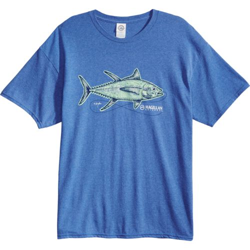 Magellan Outdoors Men's Sketched Tuna T-shirt