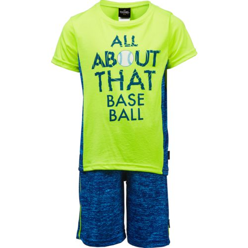 Spalding Boys' All About That Baseball T-shirt and Shorts Set