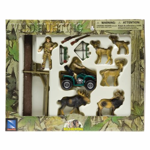 Image for New-Ray Toys Hunting and Fishing Playset Assortment from Academy