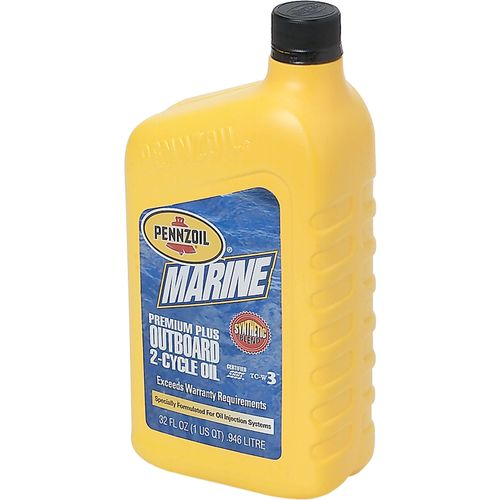 Pennzoil Marine Premium Plus 1 qt. Synthetic Blend 2-Cycle Engine Oil