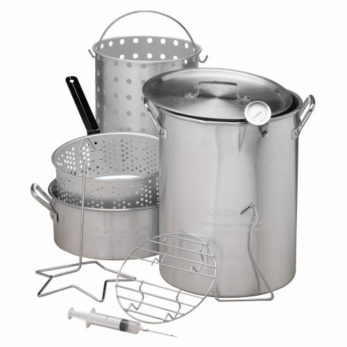 Display product reviews for Outdoor Gourmet Deluxe Combo Pot Kit