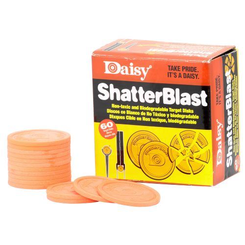 Display product reviews for Daisy® ShatterBlast Clay Targets 60-Pack