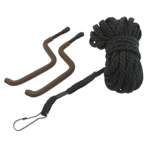 Allen Company Utility Rope with 2 Bow Hangers