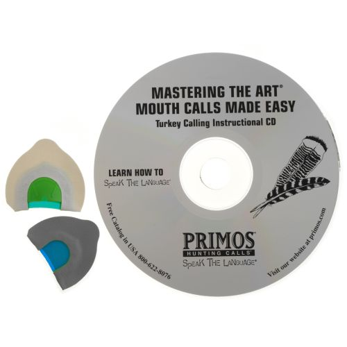 Primos Mastering the Art® Turkey Mouth Calls Made Easy™ CD