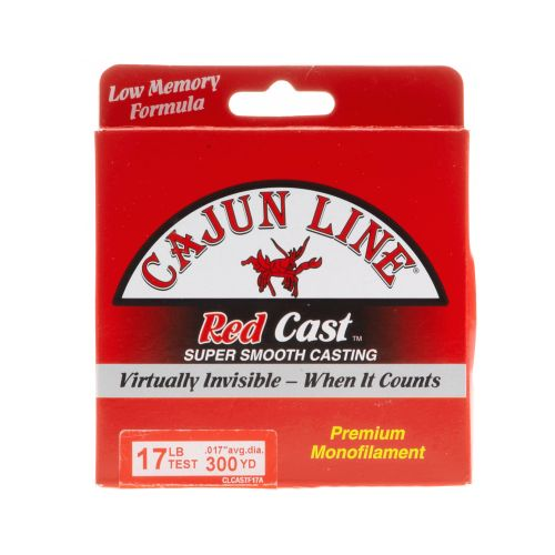 Cajun Line Red Cast 17 lb - 330 yards Monofilament Fishing Line