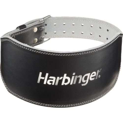 Harbinger 6  Padded Leather Weight Lifting Belt