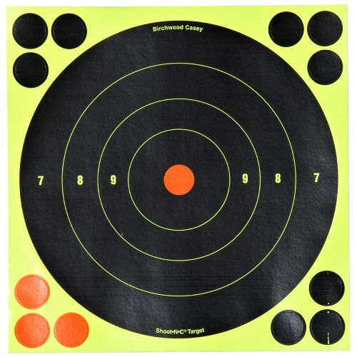 "Display product reviews for Birchwood Casey® Shoot-N-C® Self-Adhesive 8"" Bull's-Eye Targets 30-Pack"