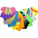 La de Da Girls' No-Show Socks 10-Pack