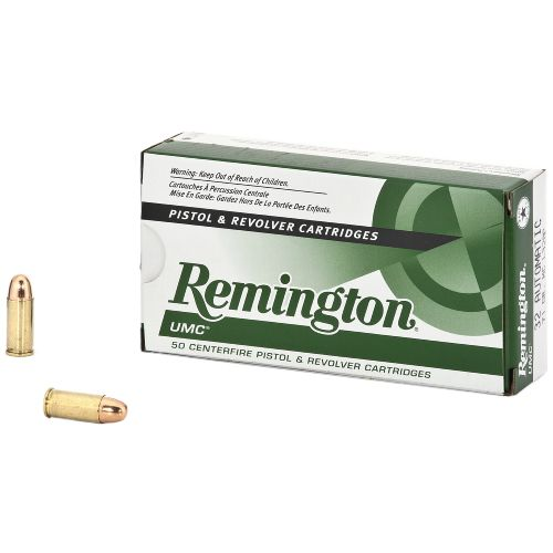 Remington UMC 32 Auto 71-Grain Centerfire Pistol and Revolver Ammunition - view number 1