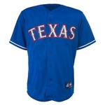 Majestic Men's Texas Rangers Yu Darvish Replica Jersey