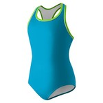 Speedo Girls' Piped Racerback Swimsuit