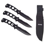 SOG Throwing Knives 3-Piece Set
