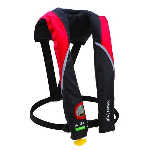 Onyx Outdoor Adults' A-24 In-Sight Automatic Inflatable Life Jacket