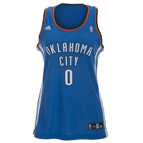 adidas™ Women's Russell Westbrook Oklahoma City Thunder Road Jersey