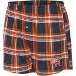 Concepts Sport Men's Sam Houston State University Millennium Plaid Boxer