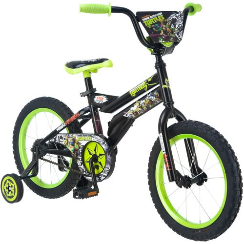 "Display product reviews for Teenage Mutant Ninja Turtles Boys' 16"" Bicycle"