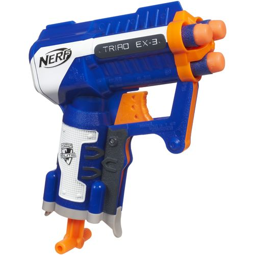 Image for NERF N-STRIKE ELITE TRIAD EX-3 Blaster from Academy