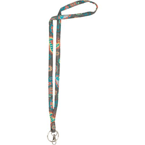 A. D. Sutton Quilted Cotton Lanyard
