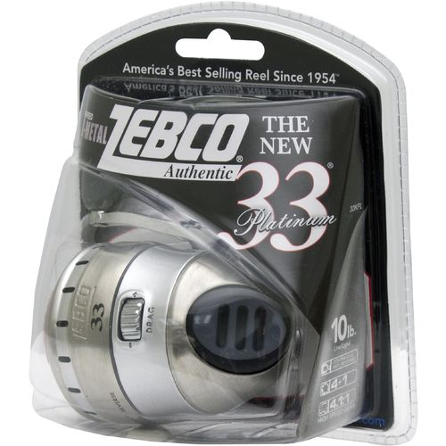 Zebco Platinum 33 Spincast Reel Convertible - view number 2