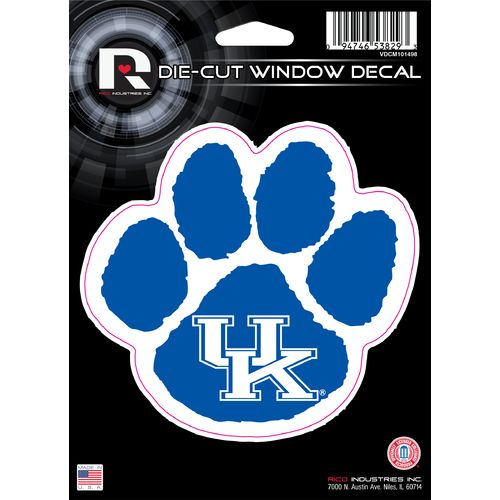 Rico University of Kentucky Die-Cut Decal