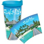 Tervis Salt Life Tropical Island Wrap 24 oz. Tumbler with Lid