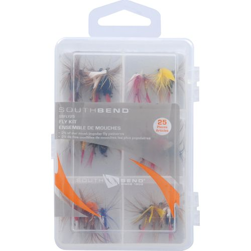 South Bend Assorted Flies 25-Pack
