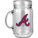 The Memory Company Atlanta Braves Mason Jar