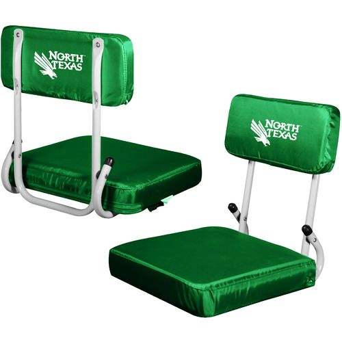 Logo Chair University of North Texas Hard Back