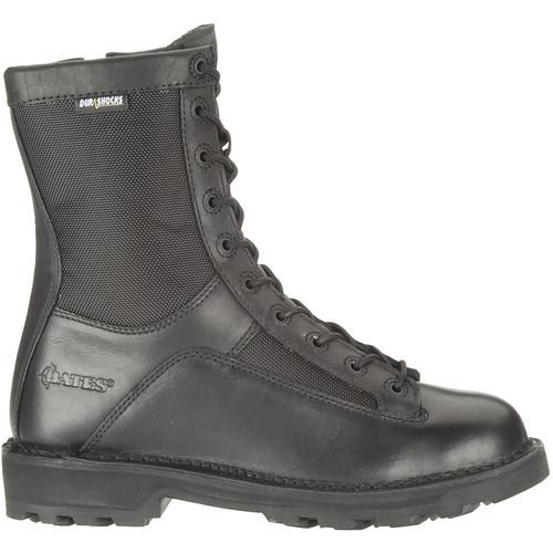 Bates Men s DuraShocks  Lace-to-Toe Side Zip Tactical Boots