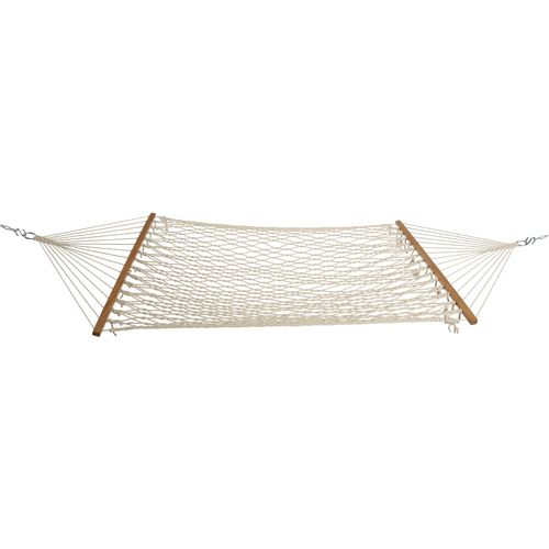 Medium image of castaway single cotton rope hammock