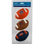Rawlings® Auburn University 3rd Down Softee Footballs 3-Pack