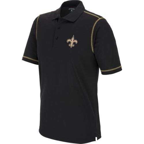 Antigua Men's New Orleans Saints Icon Polo Shirt - view number 1