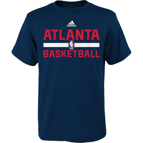 adidas Boys' Atlanta Hawks Practice Wear T-shirt - view number 1