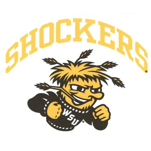 "Stockdale Wichita State University 8"" x 8"" Vinyl Die-Cut Decal"