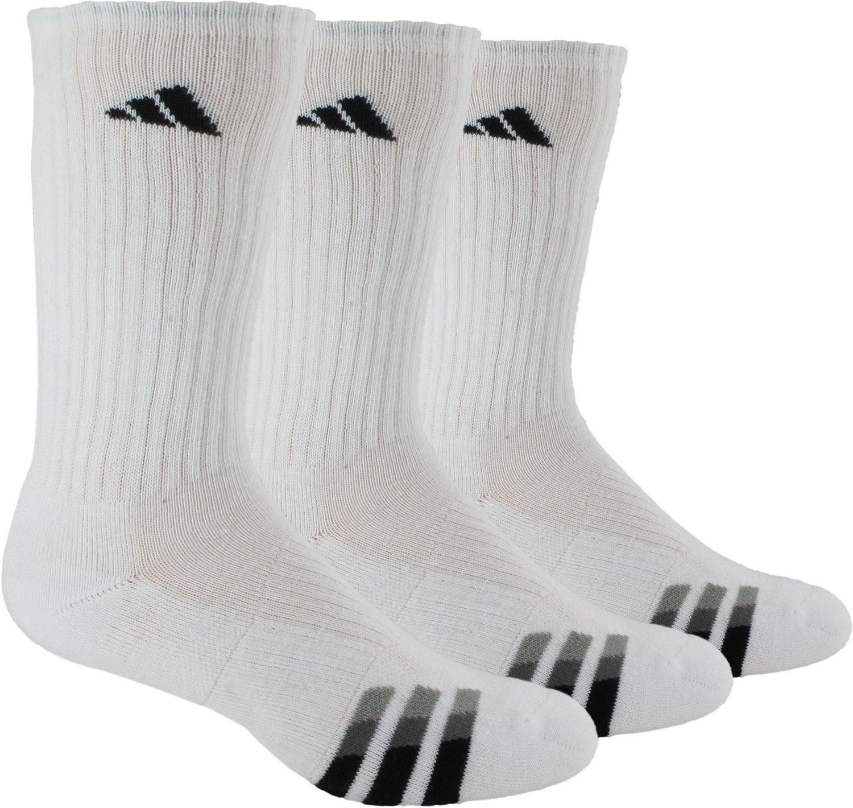 adidas™ Men's climalite® Crew Socks 3-Pair