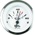 SeaStar Solutions Lido 0 - 80 PSI Oil Pressure Gauge - view number 1