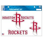 NBA Houston Rockets Magnets Set - view number 1